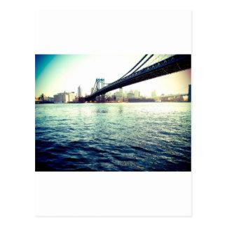 Die Brooklyn-Brücke Postkarte