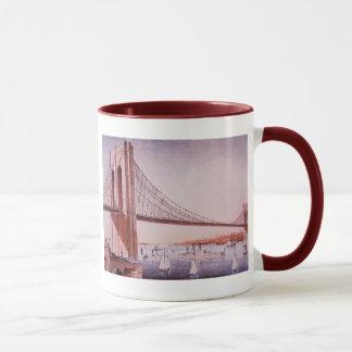 Die Brooklyn-Brücke Tasse
