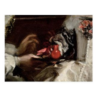 Die Brosche von Infanta Margarita Maria Postkarte