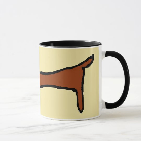 Die Brown-Dackel Tasse