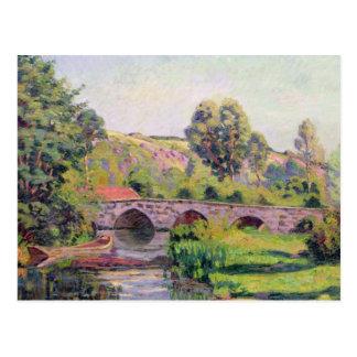 Die Brücke bei Boigneville, c.1894 Postkarte