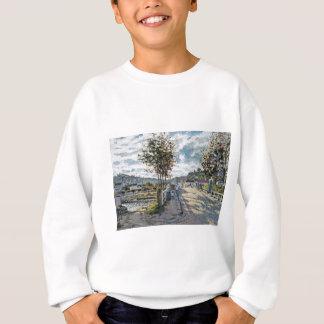 Die Brücke bei Bougival durch Claude Monet Sweatshirt