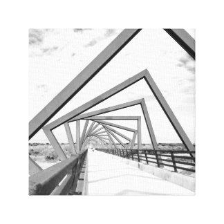 Die Brücke Gespannter Galeriedruck
