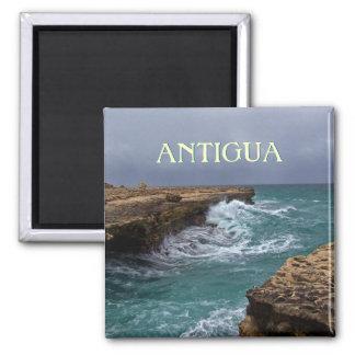Die Brücken-Andenken-Foto-Magnet Antigua-Teufels Quadratischer Magnet