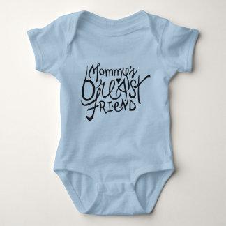 Die Brust-Freundbabybodysuit der Mama Baby Strampler