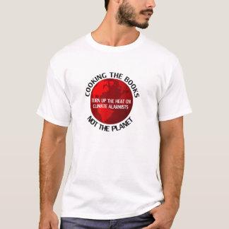 Die Bücher kochen (weiß) T-Shirt