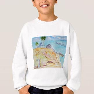 Die Bucht-Korona Del Mar, CA des Piraten Sweatshirt