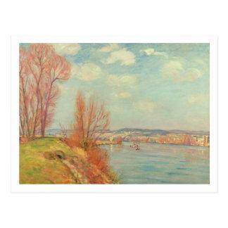 Die Bucht und der Fluss, 1901 (Öl auf Leinwand) Postkarten