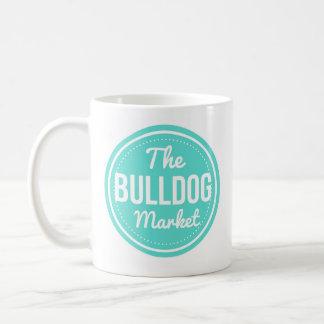 Die Bulldoggen-Markt-Kaffee-Tasse Kaffeetasse