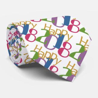 Die bunte Krawatte 2018 neuen Jahres