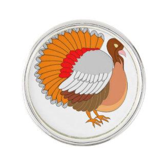 Die bunte Türkei Anstecknadel