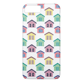 Die bunten Strand-Häuser iPhone 8 Plus/7 Plus Hülle
