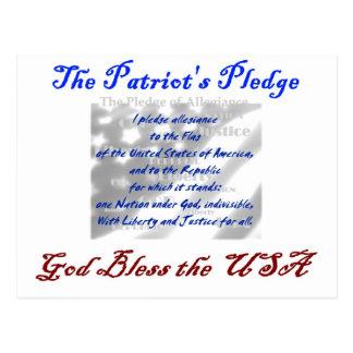 Die Bürgschaft des Patrioten Postkarte