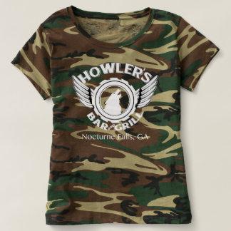 Die Camouflage-T-Stück des Summers T-shirt