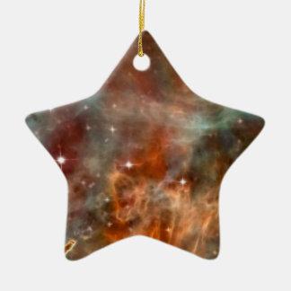 Die Carina-Nebelfleck-Marmor-Blick NASA Keramik Stern-Ornament