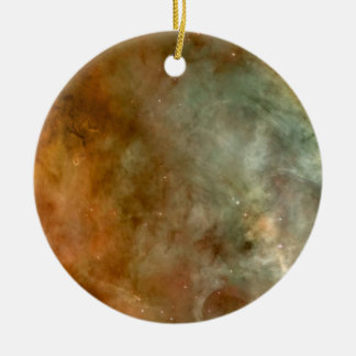 Die Carina-Nebelfleck-Marmor-Blick NASA Rundes Keramik Ornament