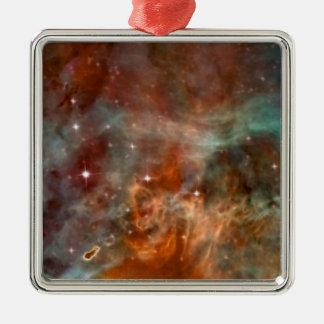 Die Carina-Nebelfleck-Marmor-Blick NASA Silbernes Ornament