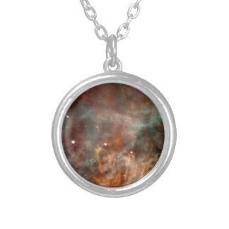 Die Carina-Nebelfleck-Marmor-Blick NASA Versilberte Kette