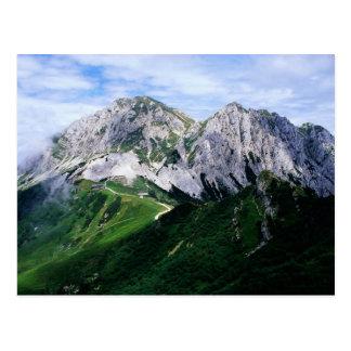 Die Carnic Alpen von Österreich u. von Italien Postkarten