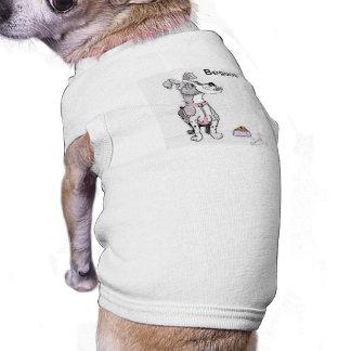 Die Cartoons zeichnen lustig Ärmelfreies Hunde-Shirt