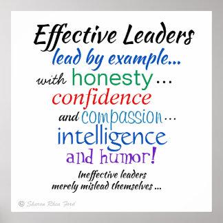 Die Charakterzüge der effektiven Führer durch SRF Poster