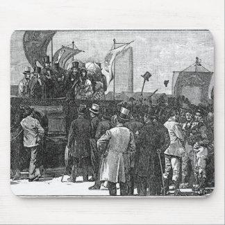 Die chartist-Demonstration auf Kennington Mauspads