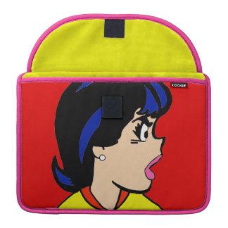 Die Chef-Comic-Streifen MacBook Prohülse MacBook Pro Sleeve