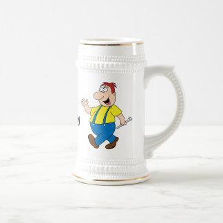 Die Chefstein-Tassen-Schablone Bierkrug