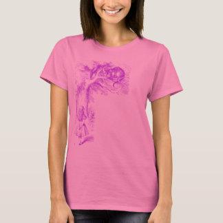 """""""Die Cheshire-Katze"""" """"von der Alicen im Wunderland T-Shirt"""