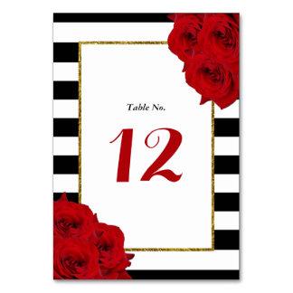 Die chic-modernen Luxe Hochzeits-Sammlungs-Roten Karte