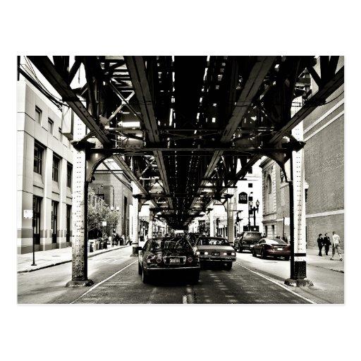 Die Chicago-Schleife Postkarte