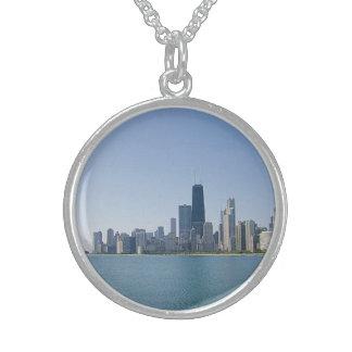 Die Chicago-Skyline Sterling Silberkette