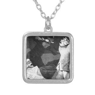 Die Chinchillas durch Francisco Goya Versilberte Kette