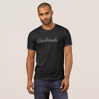 Die Cocktail-T-Shirt der Männer T-Shirt