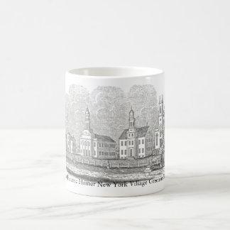 Die Common Homers NY (Village Green) im Jahre 1842 Kaffeetasse
