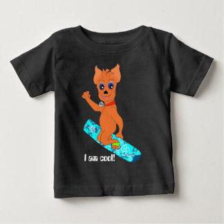 Die coole Kleidung des Jungen - glücklicher Baby T-shirt