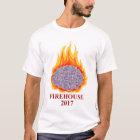 Die Crew-Hals-T-Stück 2017 lodernder Gehirn-Männer T-Shirt