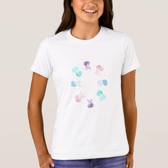 Die Crew-T - Shirt der Quallen-Mädchen