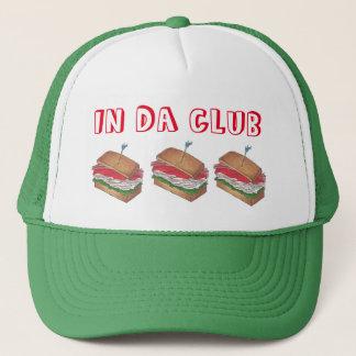 Die DA-Verein-Türkei-Club Sandwich im lustigen Truckerkappe