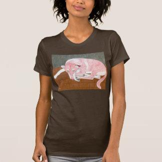 Die Dame Hundeshirt durch Julia Hanna T-Shirt