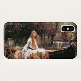 """""""Die Dame Of Shallot"""" durch Waterhouse #2 iPhone X Hülle"""