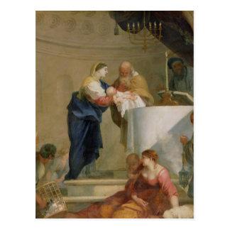 Die Darstellung im Tempel Postkarte