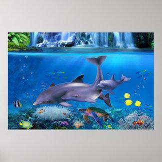 Die Delphin-Familie Poster