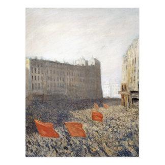 Die Demonstration, 1905 Postkarten
