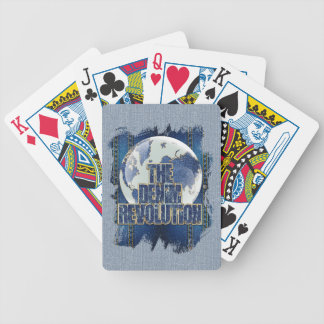 Die Denim-Revolution Bicycle Spielkarten