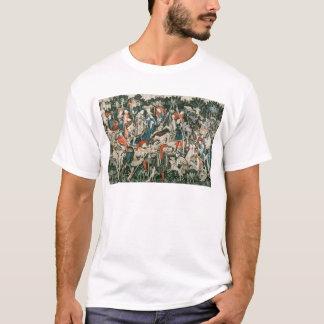 Die Devonshire Jagd-Tapisserien T-Shirt