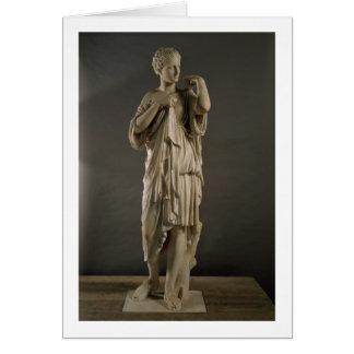Die Diana von Gabii, römisch (Marmor) (sehen Sie Karte