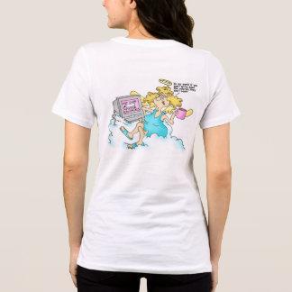 Die Diät-Nahrungsmittelklotz-entspannter T - Shirt
