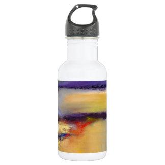 Die Dichotomie-abstrakte Wasser-Flasche der Natur Edelstahlflasche
