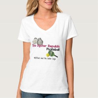 Die Die Austern-Republik Wellfleet Pickleball der T-Shirt